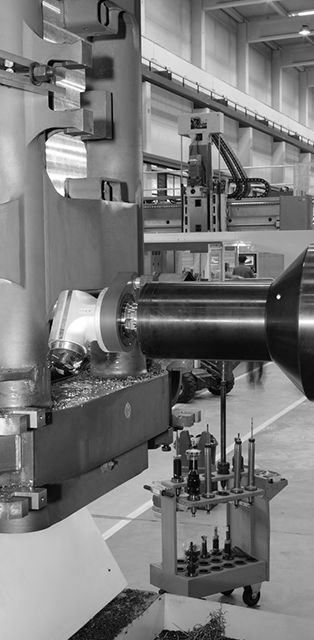 Large milling and boring machines