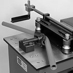 Horizontal and radial bending machines